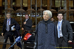 Christine Lagarde, Managing Director of the In...