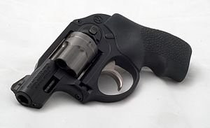 English: This is an image of a Ruger LCR chamb...