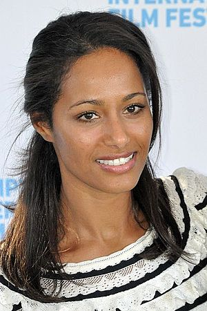 English: Rula Jebreal attending the 18th Annua...