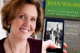 Joan Walsh with Book Cover
