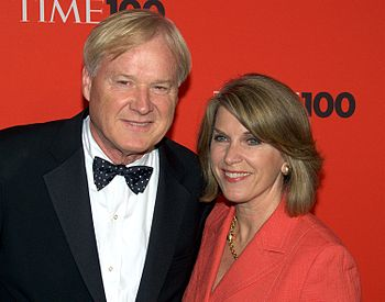 English: Chris Matthews at the 2010 Time 100.