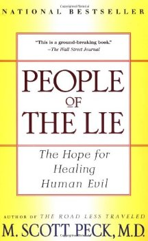 """Cover of """"People of the Lie: The Hope for..."""