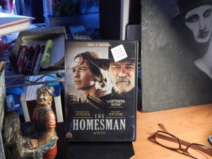 THE HOMESMAN with Hilary Swank Tommy Lee Jones
